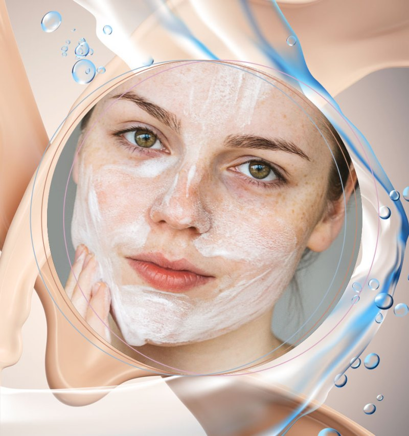 how to make a resistant and waterproof a skin makeup 01