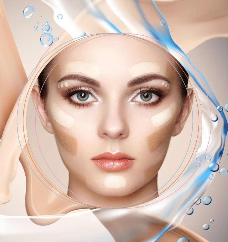 how to make a resistant and waterproof a skin makeup 06