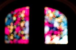 Selbstgebasteltes Adventsfenster in Wimmis