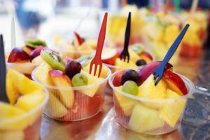 Streetfood-Festival in Bern - Frische Früchte (Fresh cats)