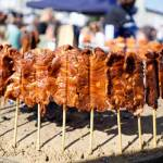 Streetfood-Festival in Bern - Spiesse