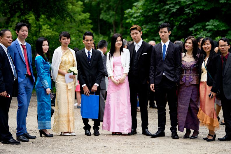 Hochzeitsfotografie - Gruppenbild