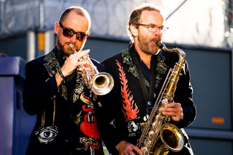 Strassenmusiker in der Altstadt Bern