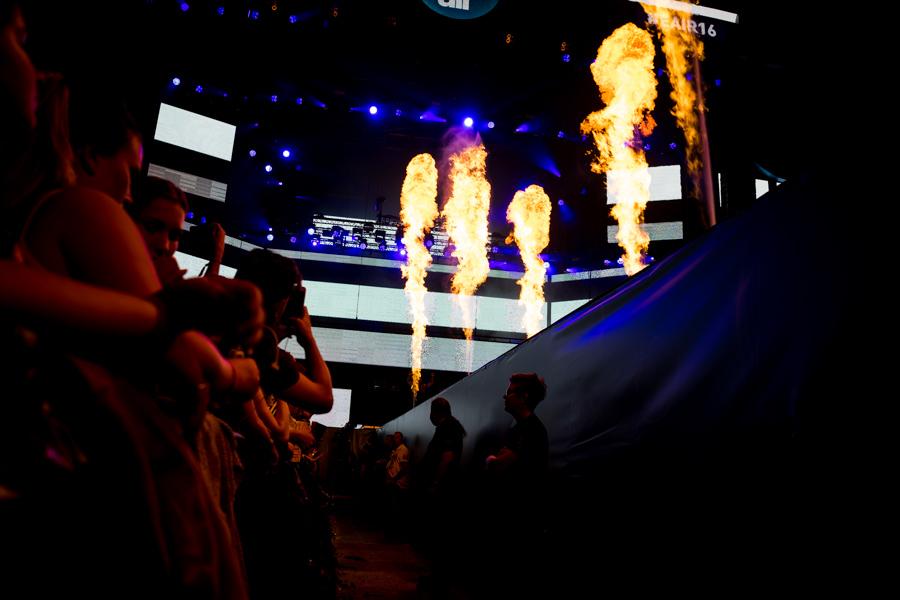 DJ Antoine am Energy Air 2016 Feuer