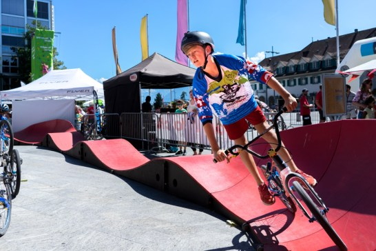 BMX-Trail in Thun am Thunfest