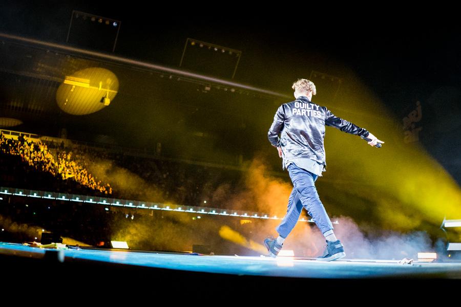 Ryan Tedder am Energy Air 2016 im Stade de Suisse