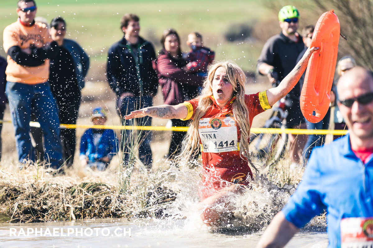 Schlammloch vom Survivalrun - Baywatch
