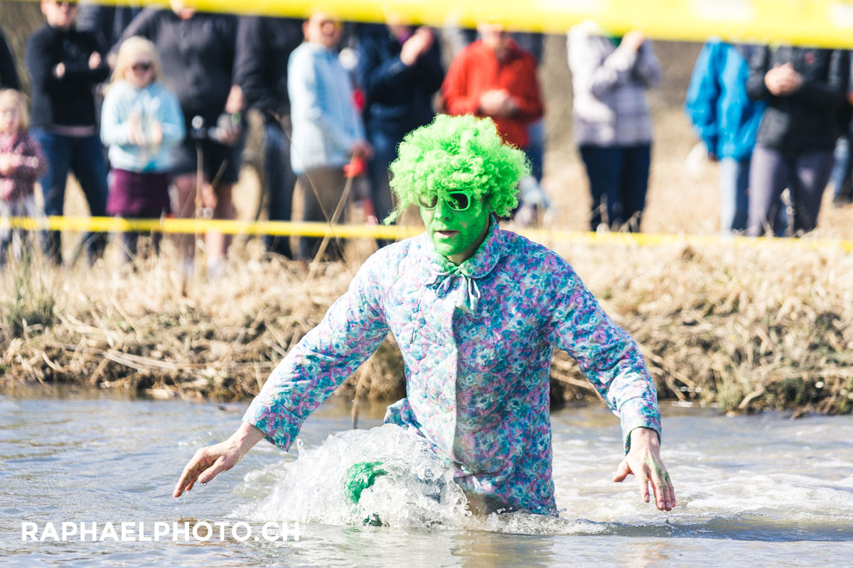 Schlammloch vom Survivalrun in Thun