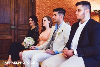 Hochzeitsfotografie Trauung beim Schloss Bümpliz