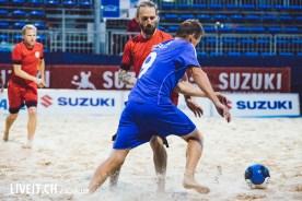 Match FC Thun Legenden - Beachsoccer Spiez 2017-8
