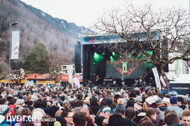 Bühne Show Manillio am Touch The Mountains 2018