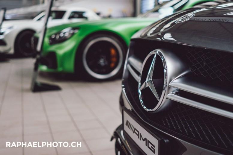 Mercedes Benz Bern Ausstellung - AMG GT