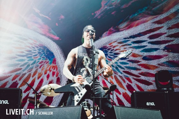 Bullet for my Valentine am Greenfield Festival 2018-2