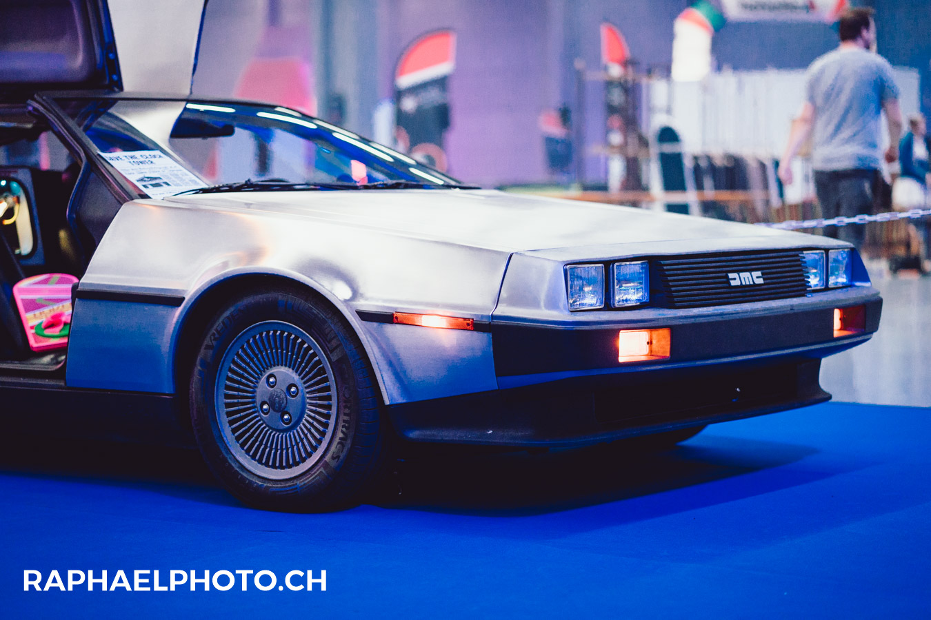 Delorean am Herofest 2018 in Bern - Back to the future