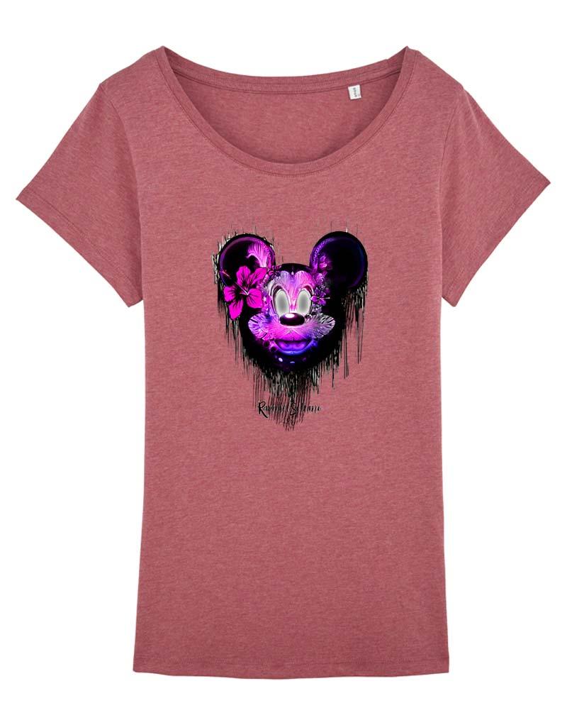 ea73da4bc5fde Tee-Shirt Mickey Femme Pas Cher - T-Shirt Disney Femme - Sweat-Shirt