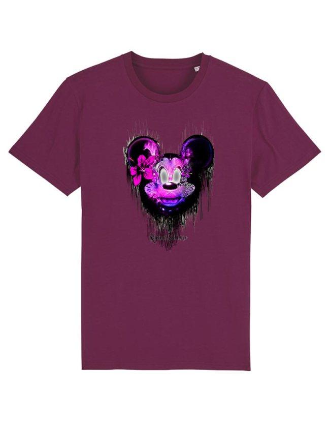 Tee Shirt Mickey Adulte, T-Shirt Homme Disney, T-Shirt Créateur, T-Shirt Raphael Setiano