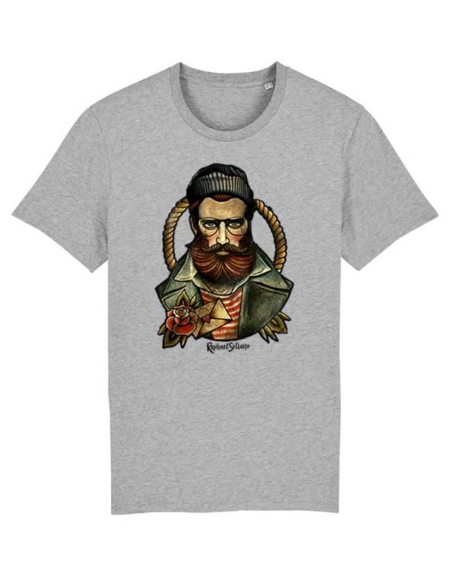 Tee Shirt Tendance Homme, Tee Shirt Hipster Barbe, T-Shirt Stylé Homme.