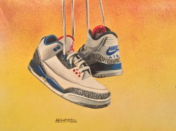 Jordan 3 cement true blue
