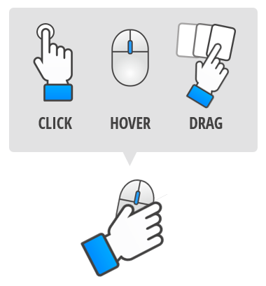touch screen as part of tabs interaction
