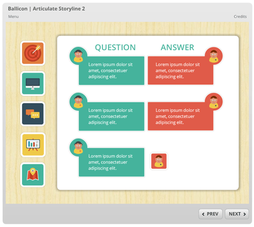 Articulate Rapid E-learning Blog - free people icons used in online training courses