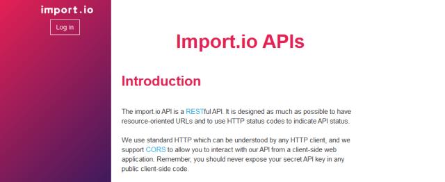 Importio API