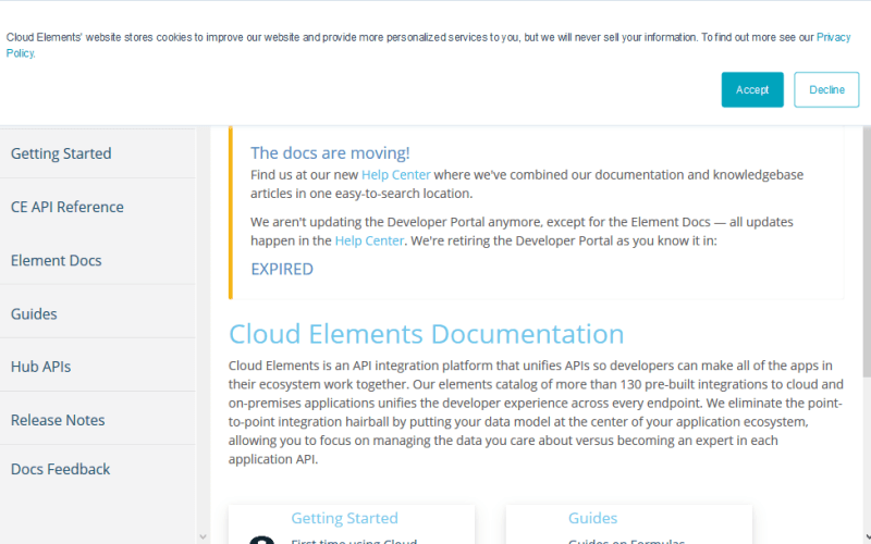 Cloud Elements Hub API