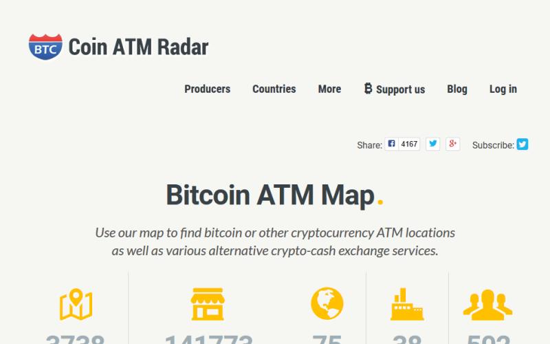 CoinATMRadar API