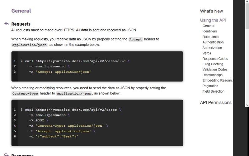 Desk.com API
