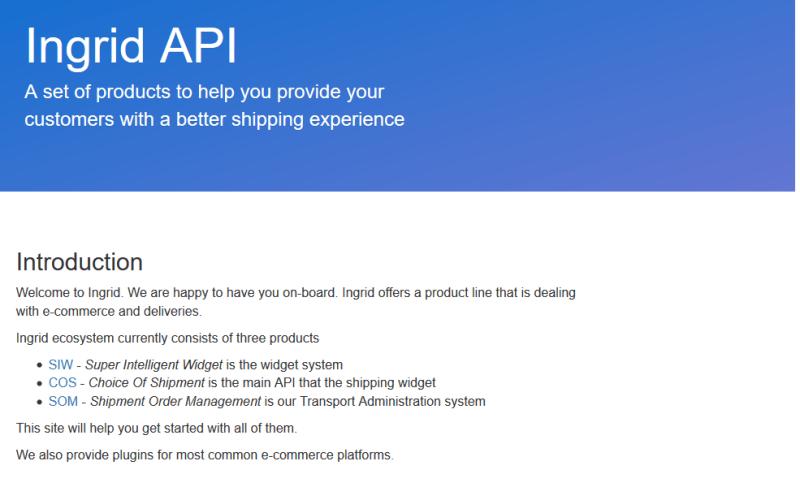 Shipwallet API