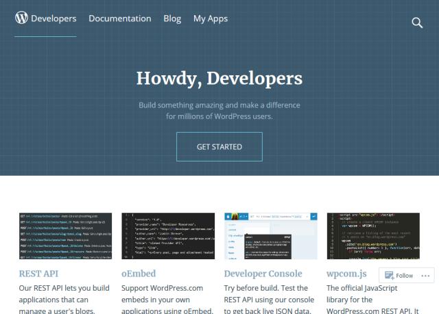 Wordpresscom API