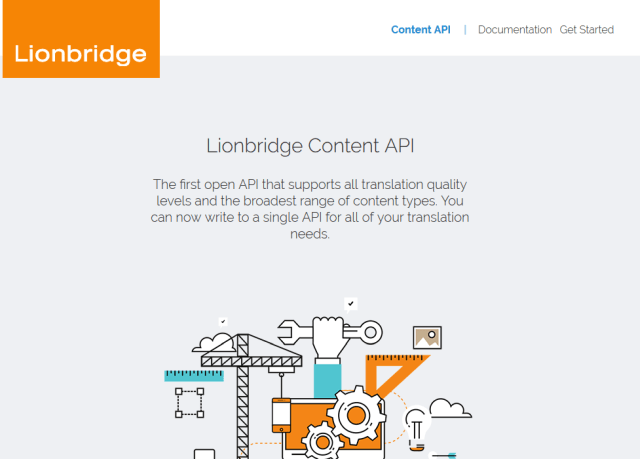 Lionbridge Ondemand Content API