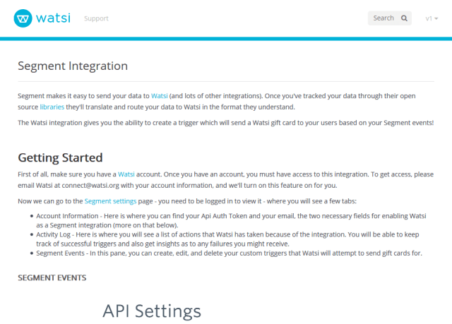Watsi API