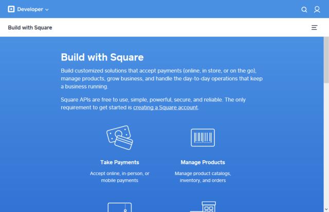 Square API