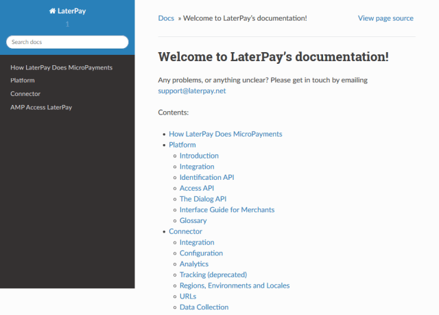 Laterpay API