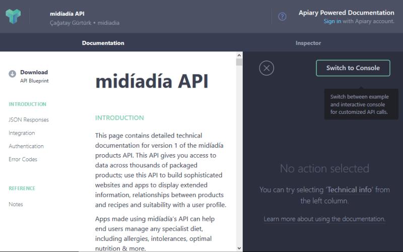 midíadía API
