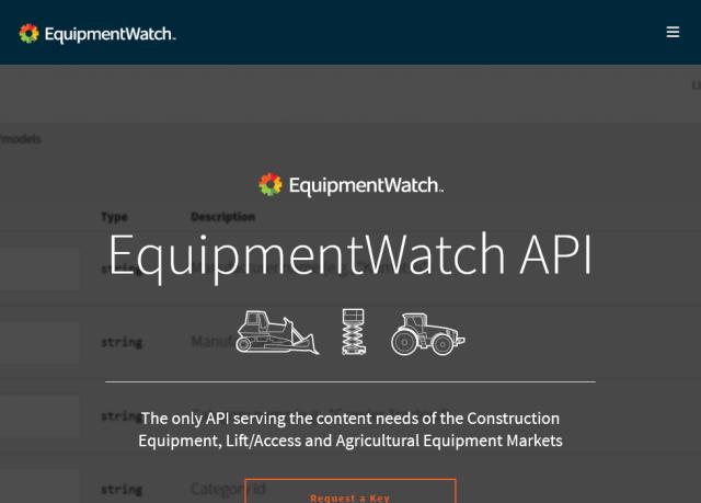 Equipmentwatch API