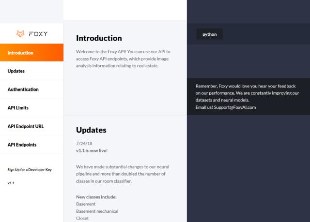 Foxy Ai API