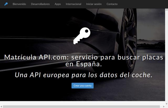 Car Registrations Spain API