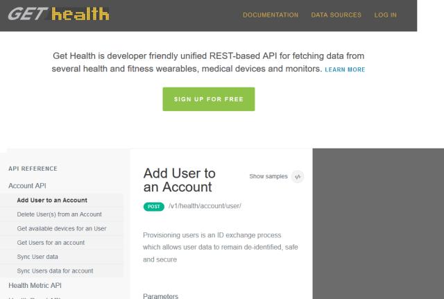 Gethealth API