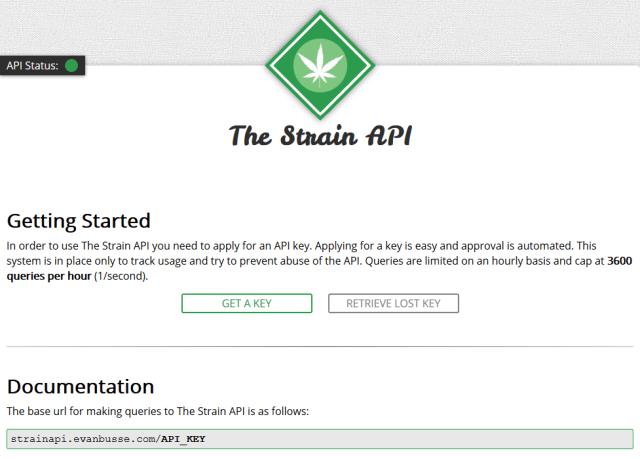 Strain API