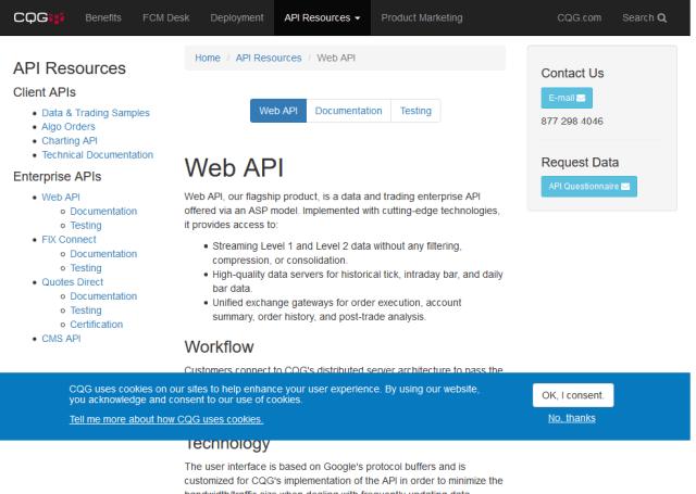 Continuum Connect API