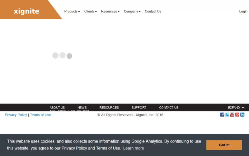 Xignite Calendar API