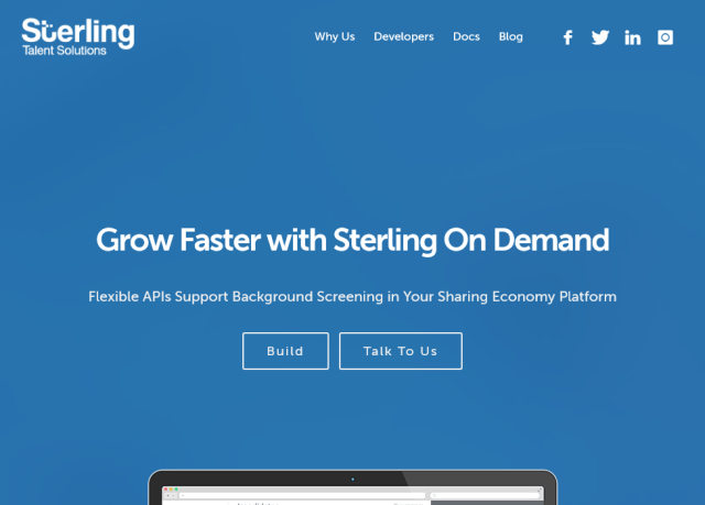 Sterling Demand API