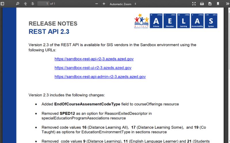 AzEDS API
