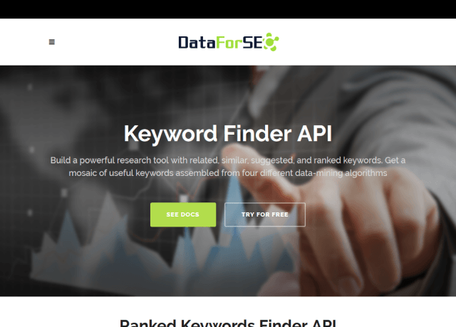 Dataforseo Keywords Finder API