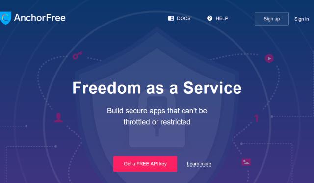 Anchorfree Partner API
