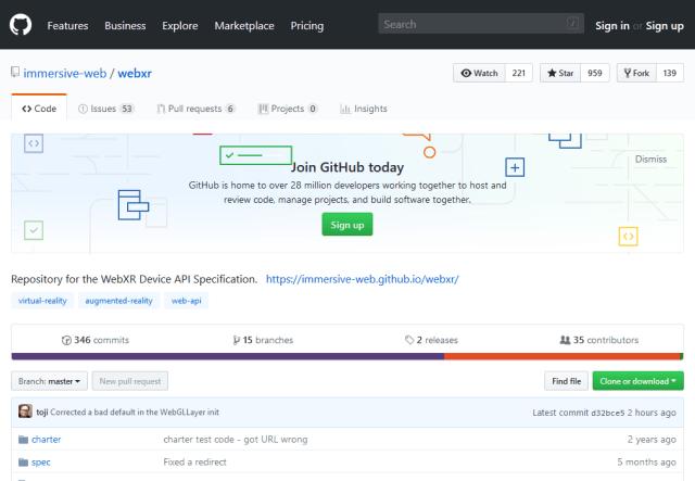 Webxr Device API