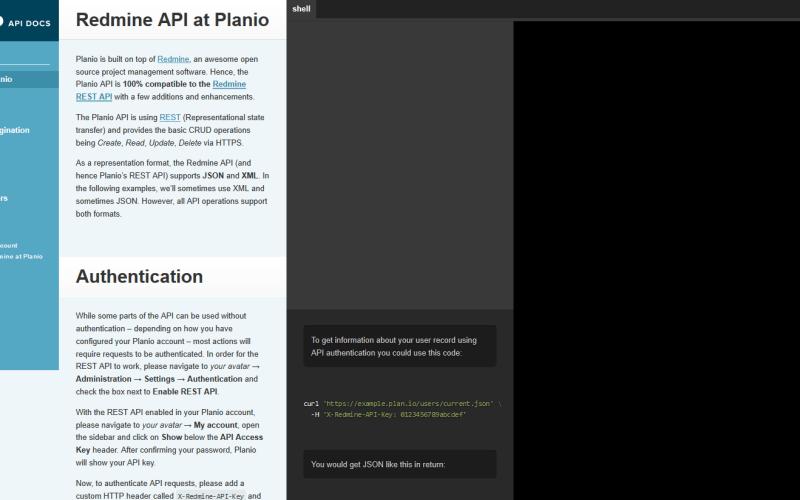Planio API