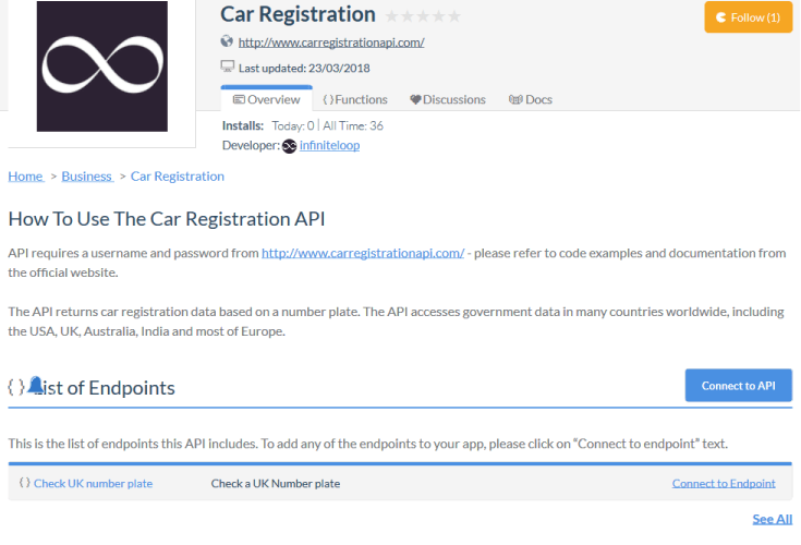 Car Registration Pakistan API
