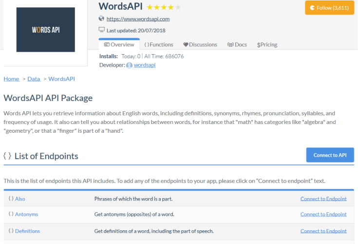 Words API